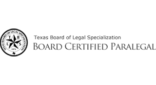 Texas Board Certified Paralegal